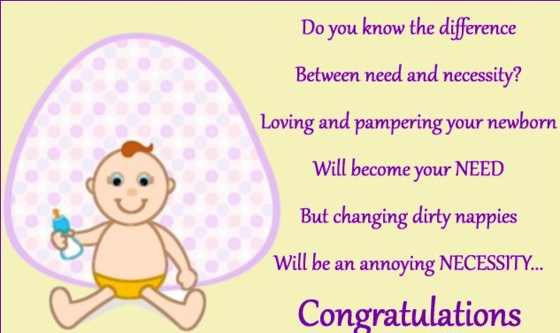 how to wish new born baby
