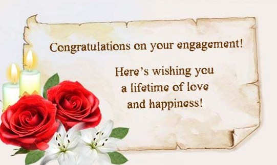 Best Engagement Wishes 2016 on Short Quotes About Life