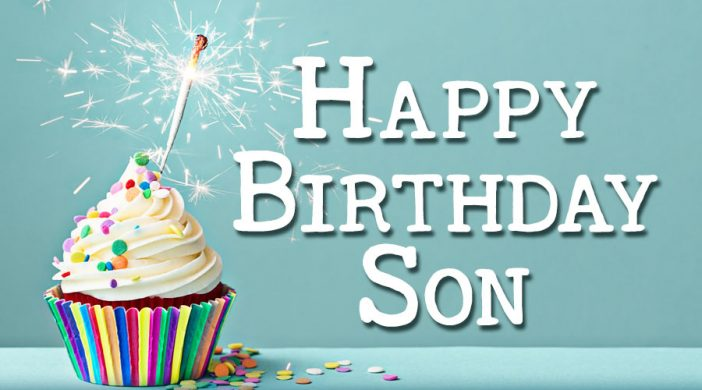 Peachy Birthday Wishes And Quotes For Son Wishes Choice Funny Birthday Cards Online Bapapcheapnameinfo