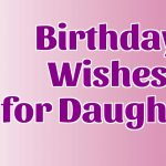 Birthday Wishes For Daughter In Law 2017