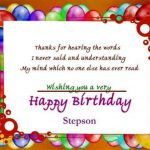 Best Birthday Wishes For Stepson