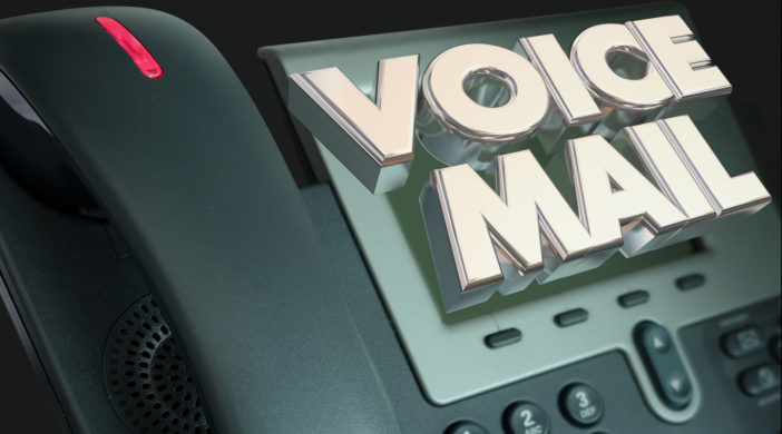 how to create a business voicemail greeting